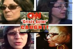 CNN Crisis Actor Caught AGAIN --- 4th Time!