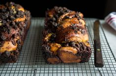 A fudge center and chocolate crumb topping give this babka a serious upgrade.