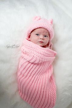 Snuggly Baby Cocoon Crocheted Cocoon