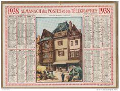 calendrier 1938