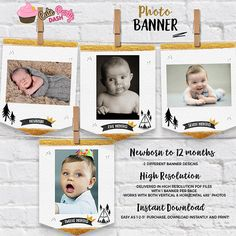 Wild one Birthday Monthly Photo Banner wild one first birthday banner king of all things Birthday Garland gold and black Birthday Garland, First Birthday Banners, First Birthday Parties, First Birthdays, Wild One Birthday Party, Baby Boy Birthday, Baby Boy Christmas Outfit, Monthly Photos, Photo Banner