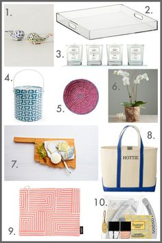 10 Hostess gift ideas under $50