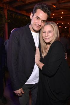 Barbra and John Mayer