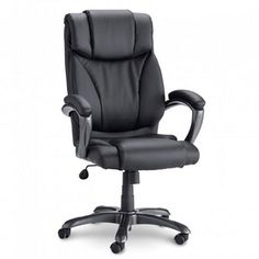 Sauder® Bonded Leather Executive Chair - Sears | Sears Canada Canada Shopping, Executive Chair, Bonded Leather, Online Furniture, Mattress, Stuff To Buy, Lifestyle, Tips, House