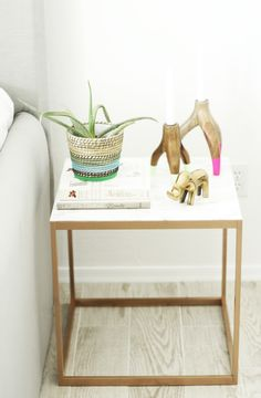 Ikea Hack Nightstand - Four Ways!