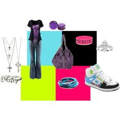 Wynter's outfit for meeting some more superstars in the WWE, created by jordandaniellecarey