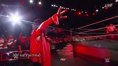 If anyone knows how to make an entrance, IT IS Shinsuke Nakamura at WWE NXT TakeOver: San Antonio on WWE Network.