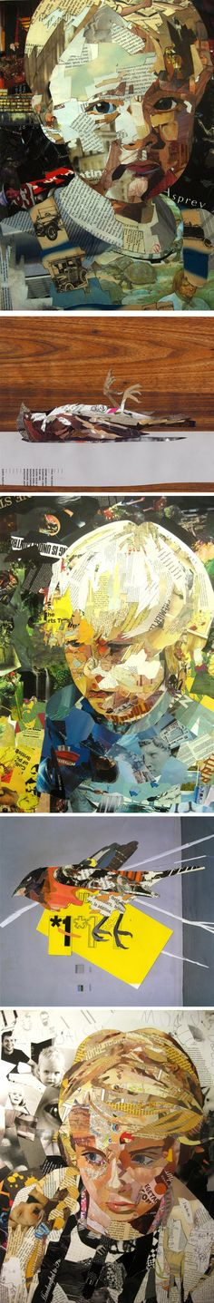Patrick Bremer - collage