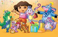 Dora's Big Party Pack DVD Set Review - My Organized Chaos