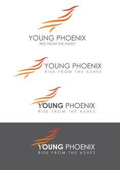 Young Phoenix Logo by Darryl Brocklesby, via Behance