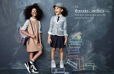 crewcuts goes Back To School. Back to School Clothes Fall 2014 Crew Cuts, School Fashion, Girl Fashion, Back To School Kids, Little Fashion, Cute Outfits For Kids, Campaign Fashion, Kid Styles, School Uniform