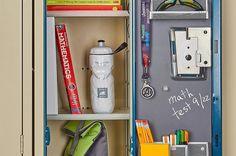 Create a first-day-fabulous locker with these locker organization favorites. From locker shelves, to magnetic organizers to mini mirrors. We've got you covered for a fresh new year. Locker Supplies, Locker Ideas, Locker Designs, Locker Stuff, Kid Stuff, Diy Locker Shelf, Washi, School Locker Organization, Organization Ideas