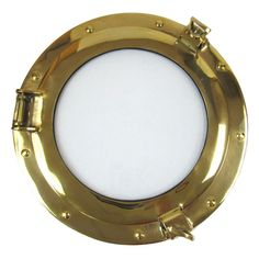 IOTC Brass Porthole Frame with Clear Glass ** For more information, visit image link. (This is an affiliate link) #SimpleHomeDecor