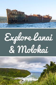 Explore Lanai and Molokai: The Secluded Hawaiian Islands of Maui County Hawaii Vacation Rentals, Hawaii Destinations, Hawaii Honeymoon, Hawaii Travel, Travel Usa, Maui Hawaii, Best Hawaiian Island, Hawaiian Islands, Hawaii Activities