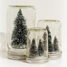 gonna DIY a million mason jar snow globes