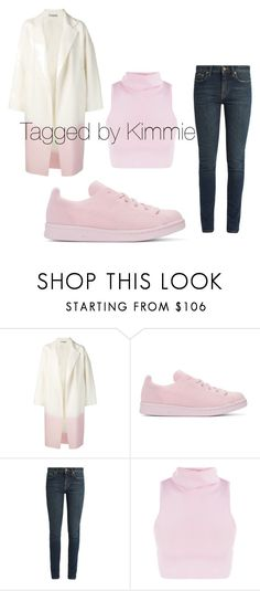 """""""Untitled #474"""" by taggedbykimmie15 on Polyvore featuring Dušan, adidas Originals and Yves Saint Laurent"""
