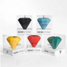 Orologio Gemstone rosso #clock #diamond