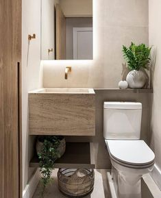 tiny home decorating ideas Eclectic Bathroom, Bathroom Styling, Bathroom Interior Design, Modern Bathroom, Small Bathroom, Bathroom Storage Ladder, Pallet Bathroom, Bad Styling, Toilet Design