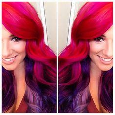 %u2665 Vibrant red hair