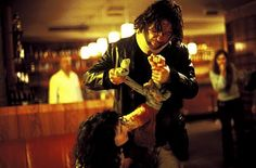 """Head-On (2004) """"Gegen die Wand"""" - German - Director: Fatih Akin IMDB: In St. Pauli, Hamburg, the alcoholic, drugged and hopeless German with Turkish roots Cahit Tomruk lives like a pig in a small dirty apartment and survives collecting empty bottles in the night-club """"Die Fabrik"""". One night, he gives up living, and hits his car against a wall."""