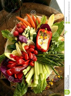 Fresh Vegetable Crudite Platter - Download From Over 27 Million High Quality Stock Photos, Images, Vectors. Sign up for FREE today. Image: 4084408