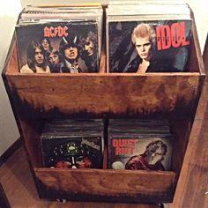 LP Vinyl Record Storage Shelf 500 capacity Record Store