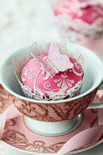 You've always got to appreciate a beautiful teacup setting.