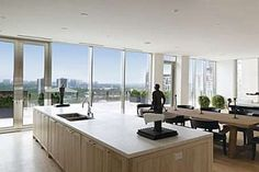 Kitchen and windows