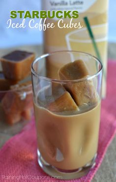Starbucks Iced Coffee Cubes