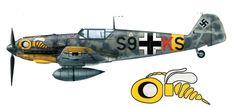 """planecolours: """" Messerschmitt Bf-109 Belgorod, june 1942 """""""