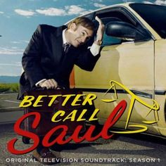 Better Call Saul: Original Television Soundtrack Season 1 Numbered Limited Edition on LP (Chicago Sunroof Colored Vinyl) Saul Goodman, Vince Gilligan, The Third Man, Call Saul, Batman, New Netflix, Film Books, Music Books, Breaking Bad