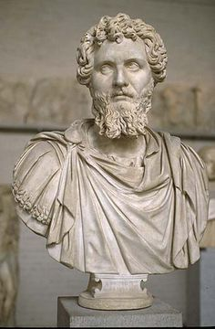 Escultura romana Emperador Antonio Pío