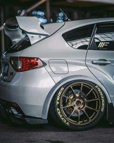 Heavy Subaru Impreza WRX STI