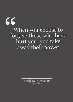 Absolutely!  People only have the power over us that we give them... #letitgo