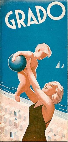 1930's Italian travel poster