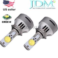 JDM ASTAR 2x Newest 5TH Generation 6400LM H7 MTG2 White CREE LED Headlight Bulbs #JDMASTAR