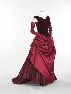 Charles James Evening dress 1949-50, Brooklyn Museum Costume Collection at the Met