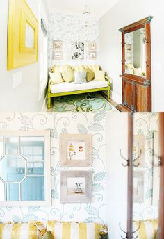 Cottage Inspiration via The Handmade Home