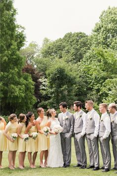 This bridal party was so much fun!