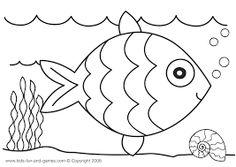 Resultado de imagen para peces para pintar