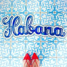 On Location. @stylemesamira finds tile inspo in Malibu, by way of Cuba.