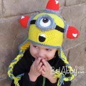 Minion Inspired Alien Crochet Hat - via @Craftsy