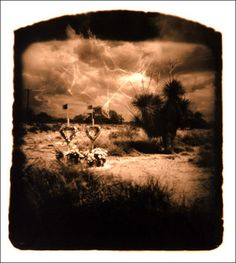 "Must check this out! OP : ""Eerie photographs taken with a camera made from a human skull"""
