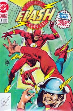 The Flash Special #1 Joe Kubert Cover 1st Appearance of John Fox as The Flash