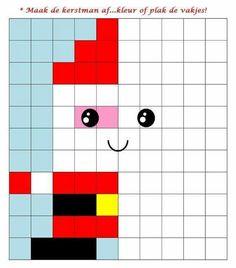 Inspiration for Lego Duplo mosaic Christmas Math, Christmas Crafts For Kids, Christmas Activities, Christmas Colors, Math Patterns, Beading Patterns, Kindergarten Activities, Activities For Kids, Graph Paper Art