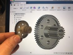 Nylon gear by printaday3d #practical  #prusai3