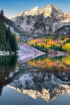 Hiking in Maroon Bells in Autumn (Colorado) is one of my favorite things to do