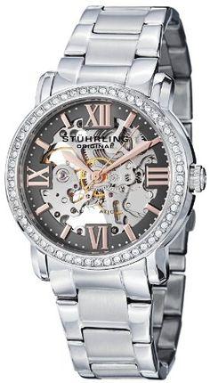 Stuhrling Original Women's 430L.121154 Regent Lady Consul Automatic Skeleton Swarovski Grey Dial Watch Stuhrling Original,http://www.amazon.com/dp/B00DI1TF3Q/ref=cm_sw_r_pi_dp_yelWsb104KJ8PKGM