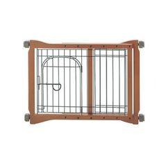 "Richell The Pet Sitter Pressure Mounted Gate Autumn Matte 28.3"""" - 41.3"""" x 2"""" x 20.9"""""