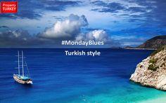 Just your average #MondayBlues in Turkey. #MondayMotivation #Mediterranean